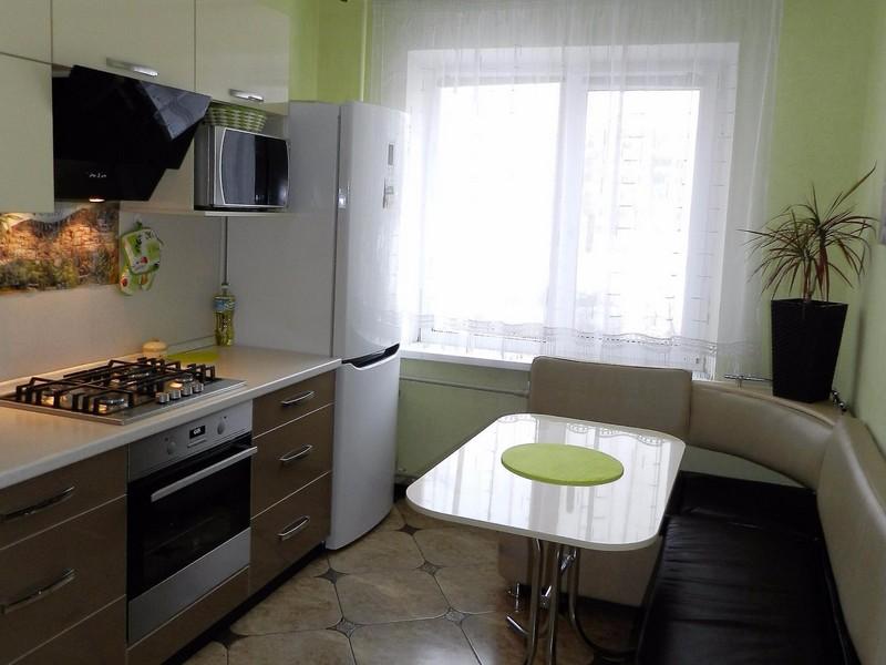 Идеи для ремонта кухни 9 кв.м с балконом фото