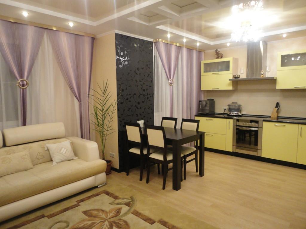 кухня зал реальные фото двери