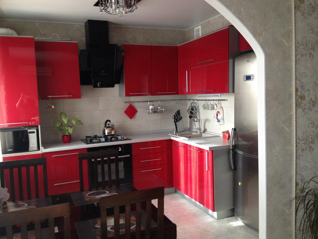 Интерьер кухни 3 на 3 фото