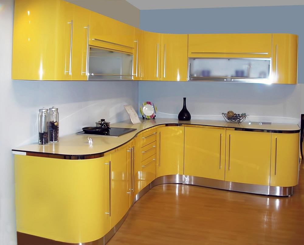 Желтый цвет в дизайне кухни: преимущества и сочетание с другими цветами