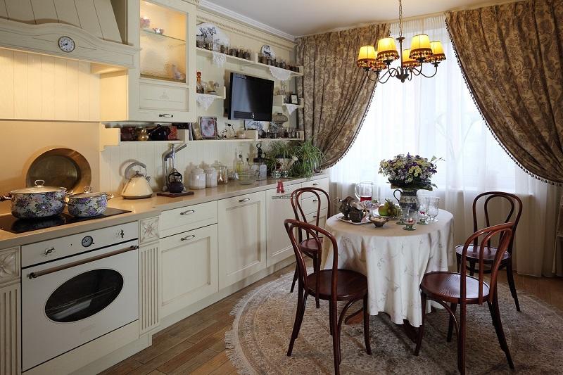 Дизайн кухни в бежевом цвете: интересные идеи оформления и реальные фото примеры