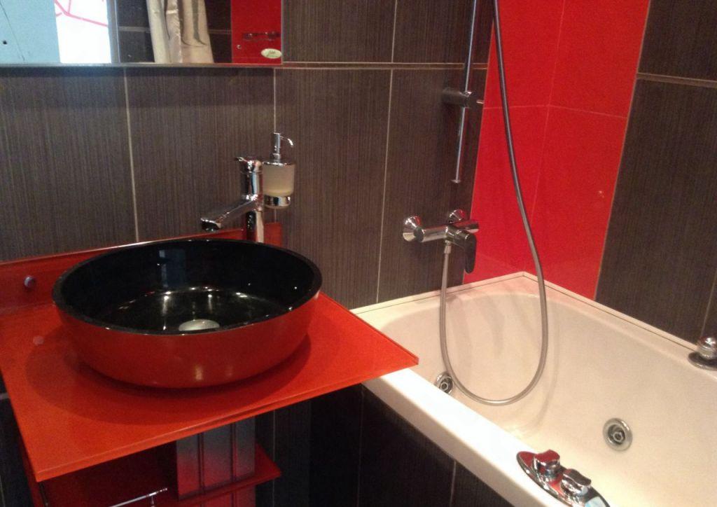 Дизайн красной ванной комнаты: 120+ реальных фото примеров и идей оформления