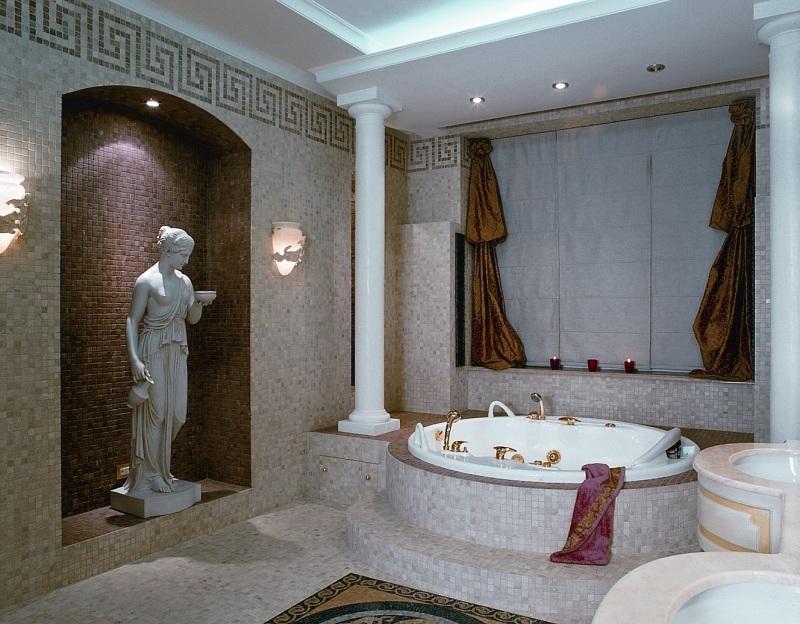 Дизайн ванной комнаты в классическом стиле: особенности стиля, советы по оформлению, фото примеры