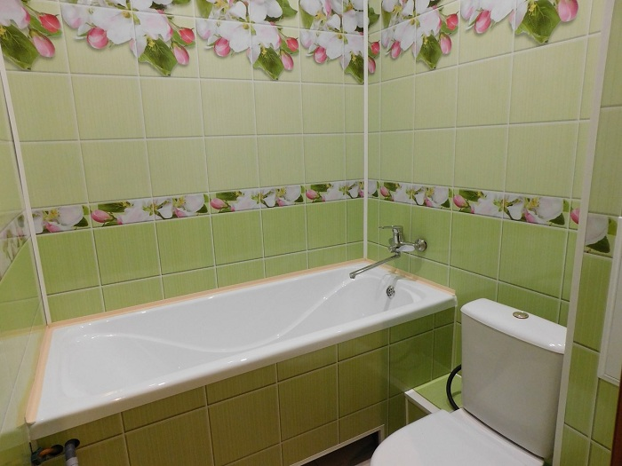 Дизайн зеленой ванной комнаты: 100+ реальных фото примеров и идей оформления