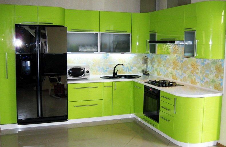 Дизайн кухни оливкового цвета: интересные идеи оформления и реальные фото примеры