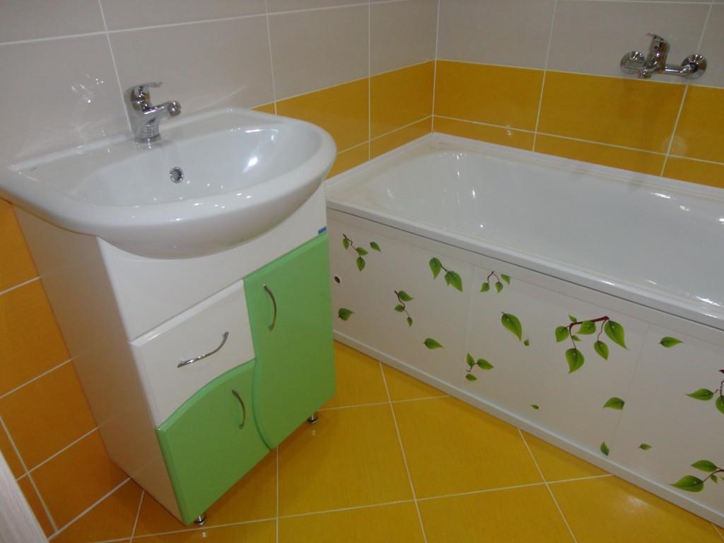Ванная комната в желтом цвете: реальные фото примеры и идеи оформления
