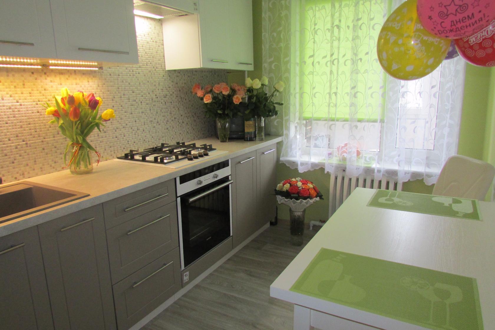 Кухня фисташкового цвета: плюсы и минусы, сочетания цвета, выбор стиля, фото примеры