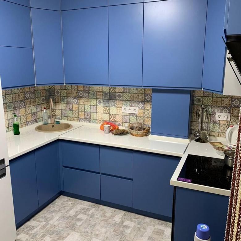 Матовая кухня: все за и против, практические советы с фото примерами