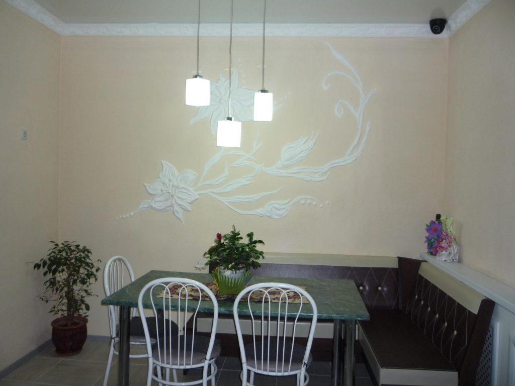 Дизайн стен на кухне: какой материал выбрать, цвет и декор (100+ фото)
