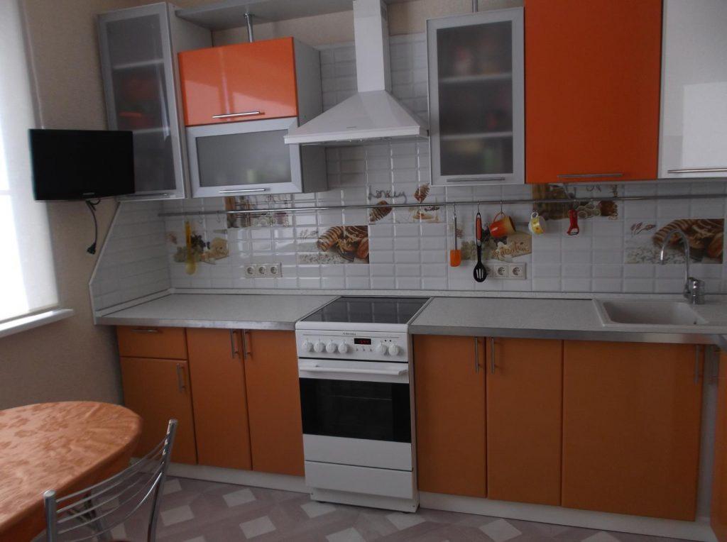 Дизайн кухни оранжевого цвета: полезные советы по оформлению и 100+ фото примеров