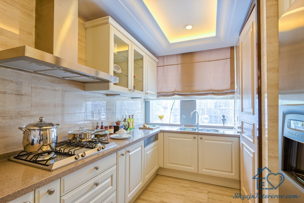 Дизайн узкой кухни: 80+ фото примеров и оригинальных идей оформления